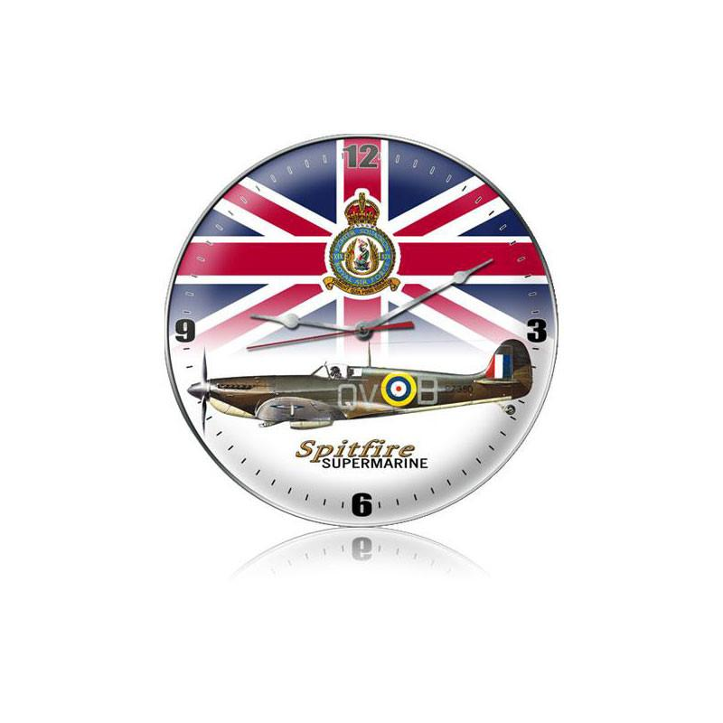 Spitfire Union Jack Clock - Man Cave Ideas
