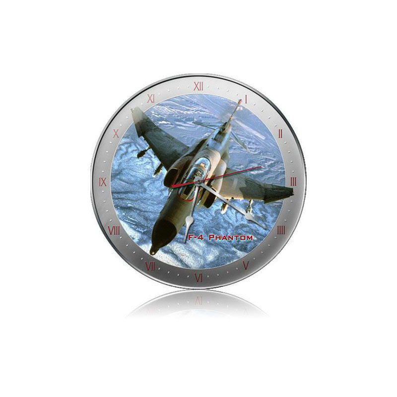 F-4 Phantom Clock - Man Cave Ideas