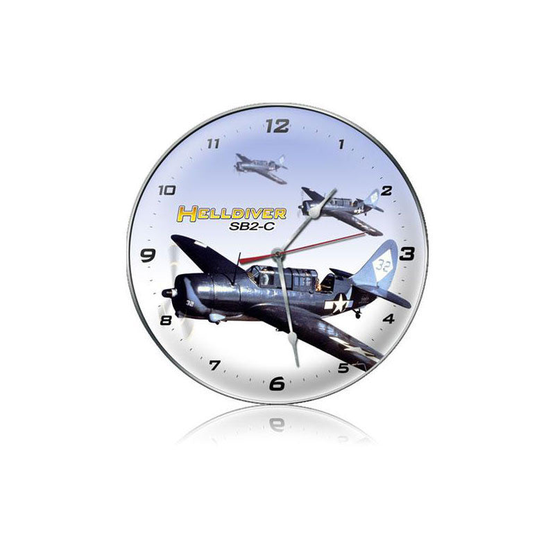 Helldiver Clock - Man Cave Ideas