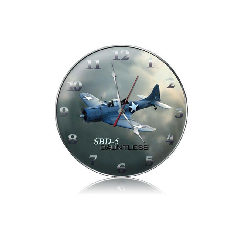 SDB-5 Dauntless Clock - Man Cave Ideas