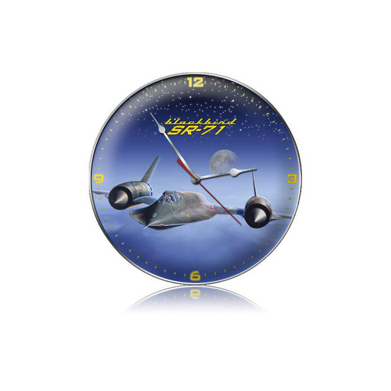 SR-71 Blackbird Clock - Man Cave Ideas