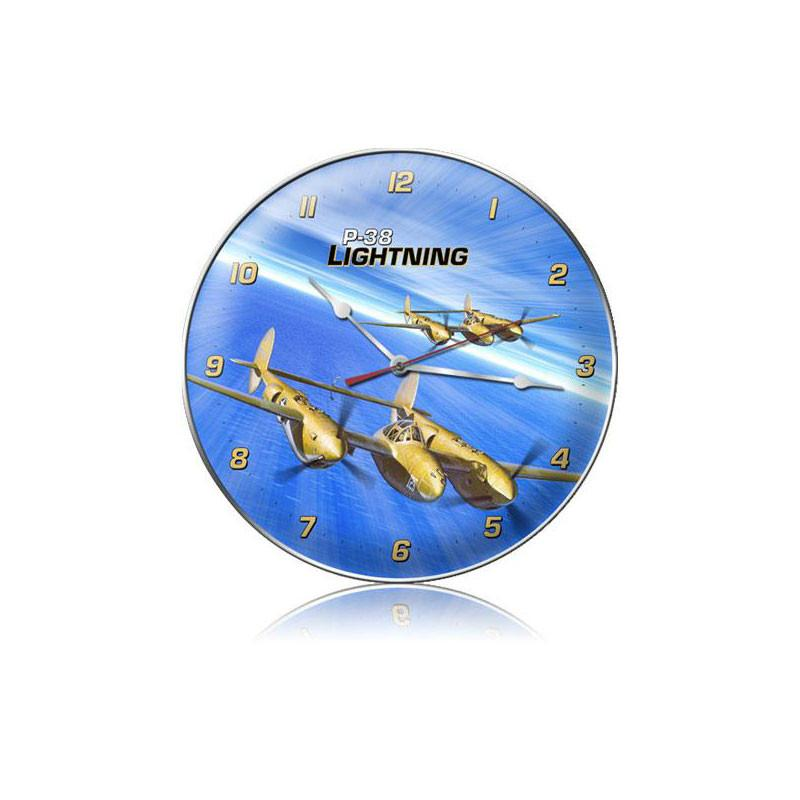 P-38 Ocean Clock - Man Cave Ideas