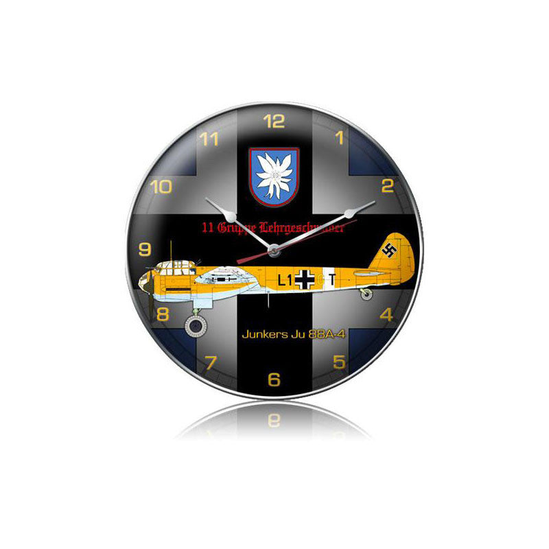 Junkers JU 88A-4 Clock - Man Cave Ideas