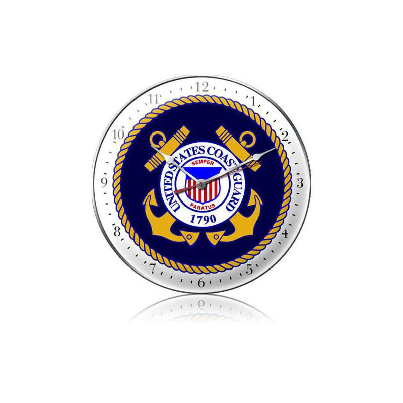 US Coast Guard Clock - Man Cave Ideas