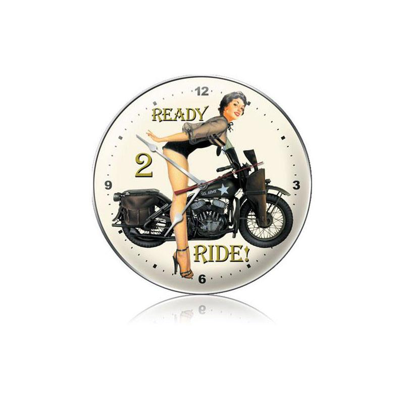 Ready 2 Ride Clock - Man Cave Ideas