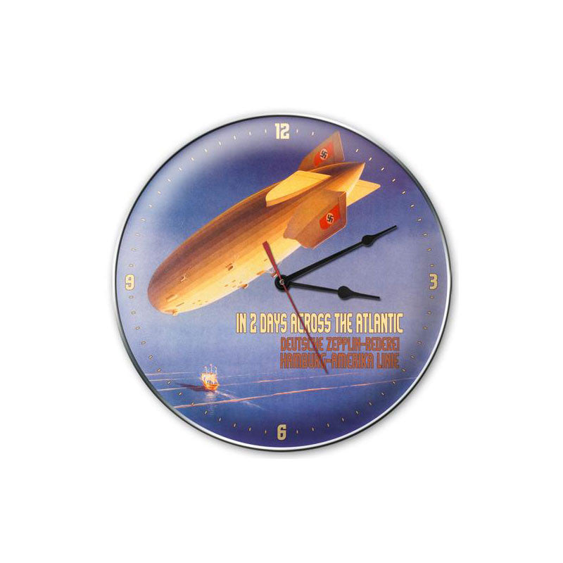 Deutsche Zepplin Clock - Man Cave Ideas