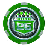 Casino Grade 500-count Poker Chip Set (Official Size 13.5 g chips) - Man Cave Ideas  - 4