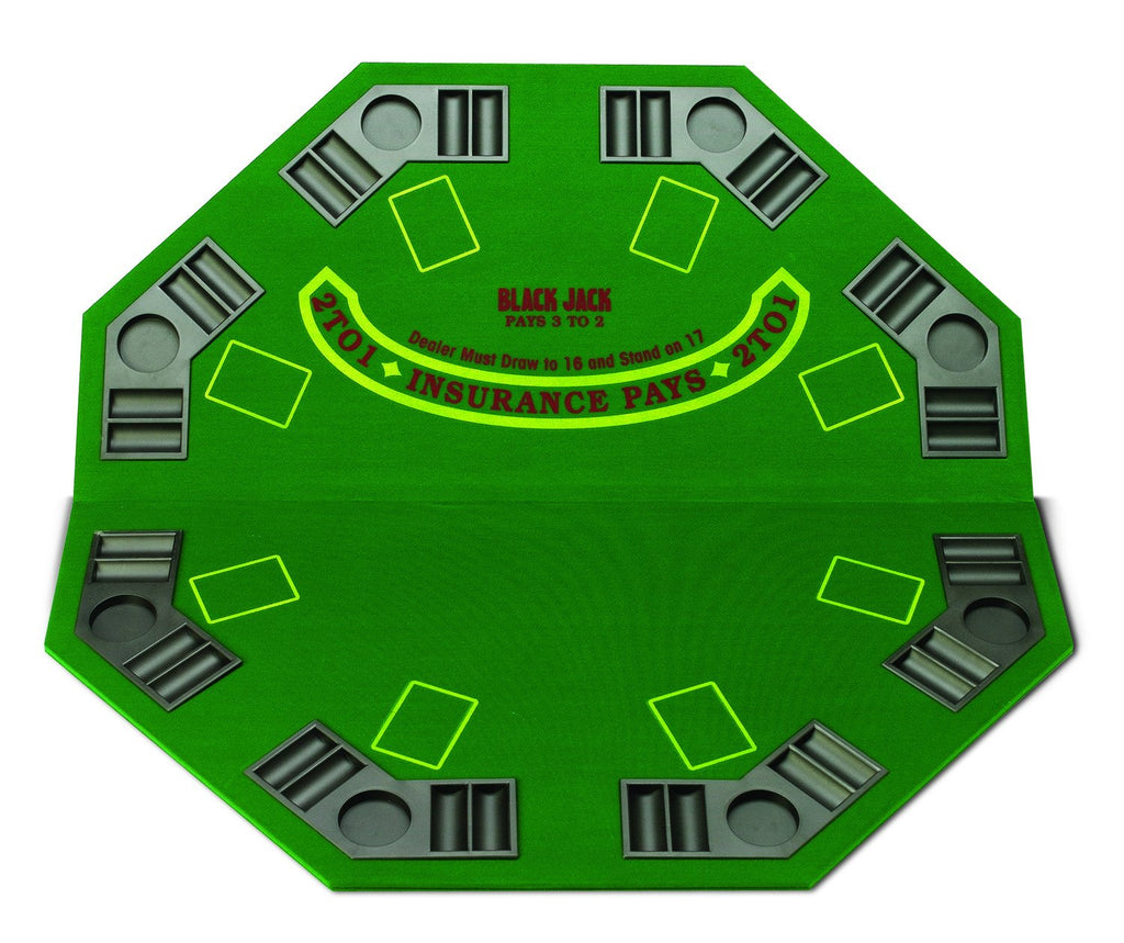 Poker / Blackjack Table Top - Man Cave Ideas  - 1