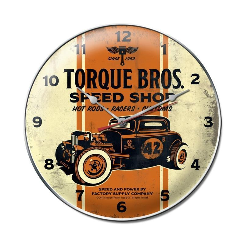 Torque Brothers 32 Coupe clock - Man Cave Ideas