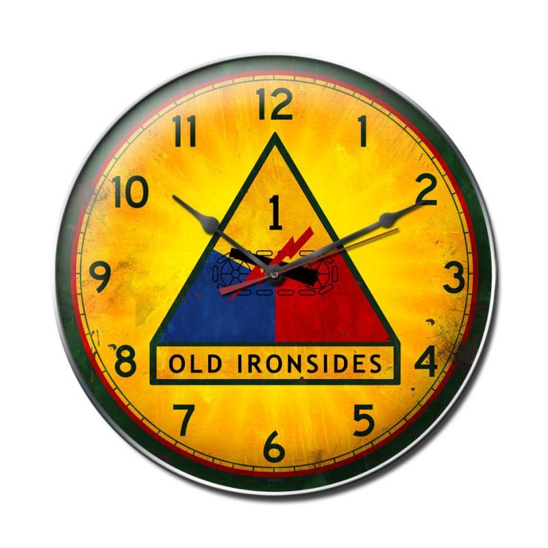 Old Ironsides Clock - Man Cave Ideas