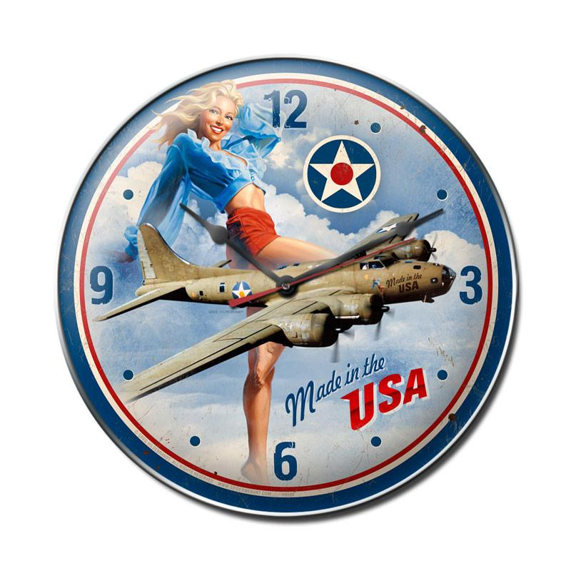 Made in USA Clock - Man Cave Ideas