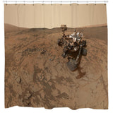 rover-on-mars-shower-curtain
