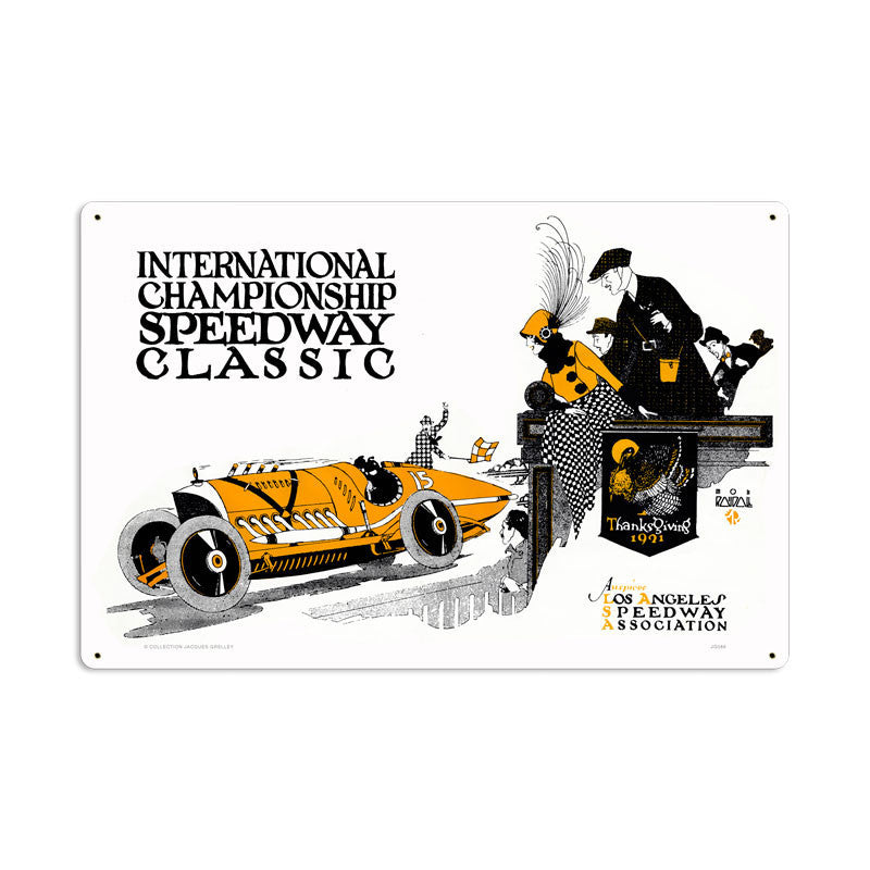 International Classic Metal Sign - Man Cave Ideas