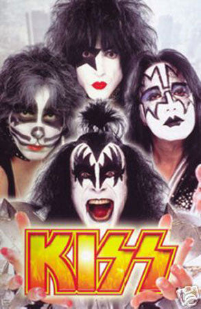 Kiss print - Man Cave Ideas