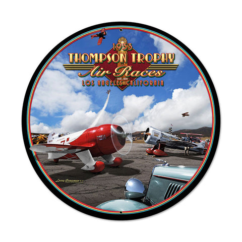 Air Races 1933 Metal Sign - Man Cave Ideas