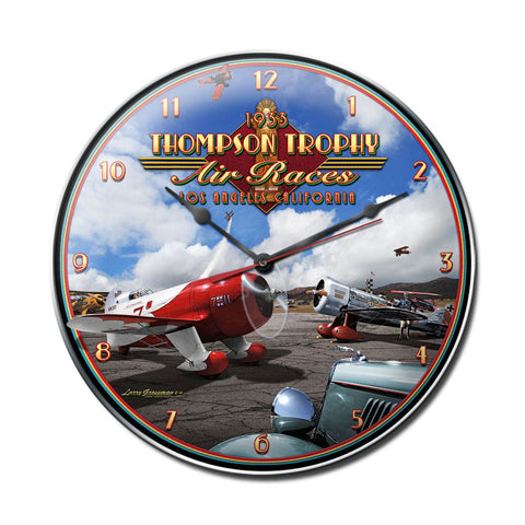 Air Races 1933 Clock - Man Cave Ideas