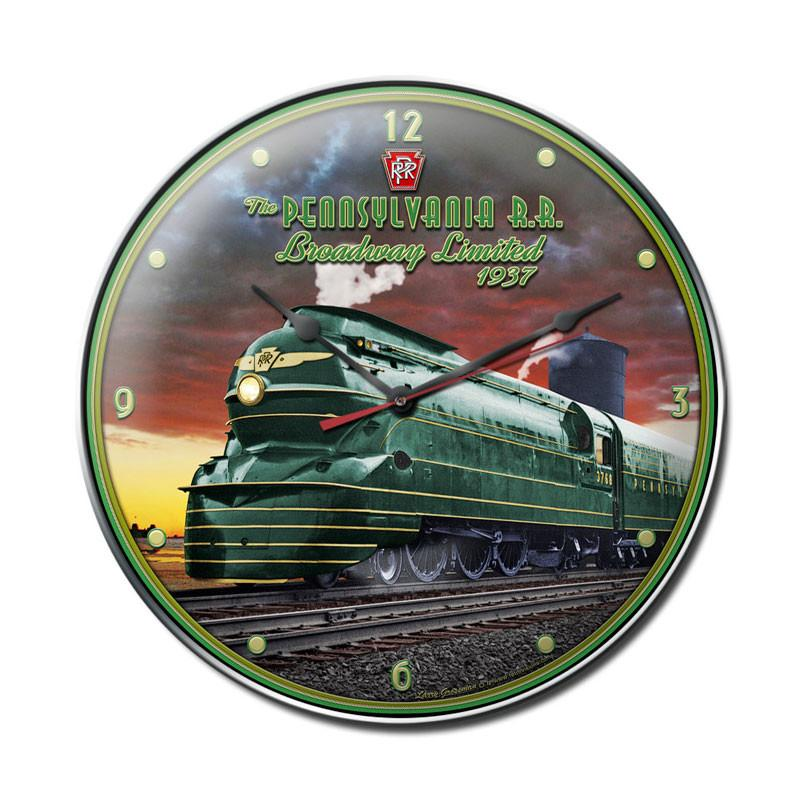 Pennsylvania Rail Road Clock - Man Cave Ideas