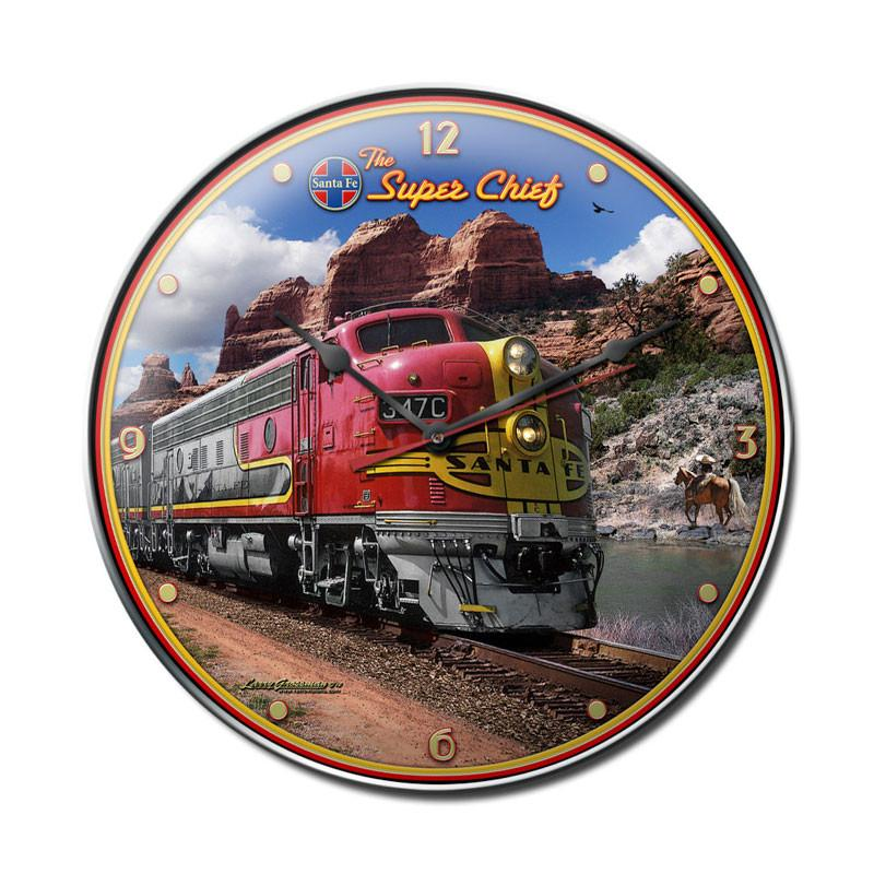 Super Chief Clock - Man Cave Ideas