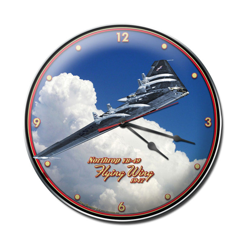 Flying Wing Clock - Man Cave Ideas