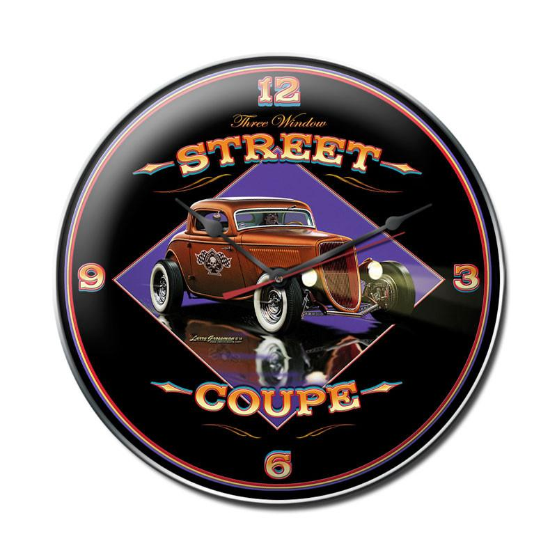 Street Coupe Clock - Man Cave Ideas