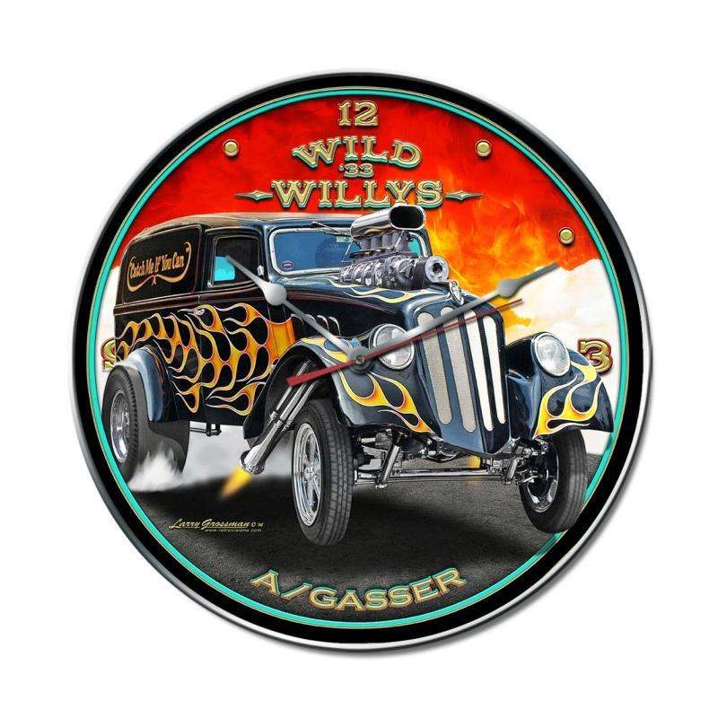 Wild Willys Clock - Man Cave Ideas