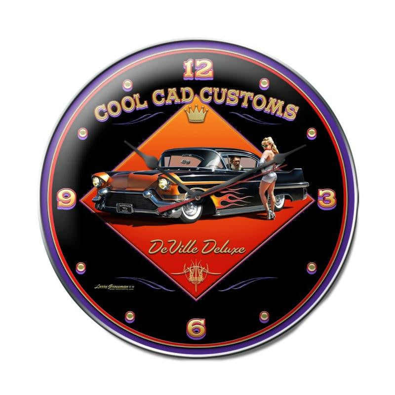Cool Cad Clock - Man Cave Ideas