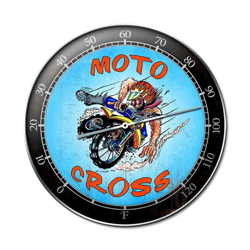 MotoCross Clock - Man Cave Ideas