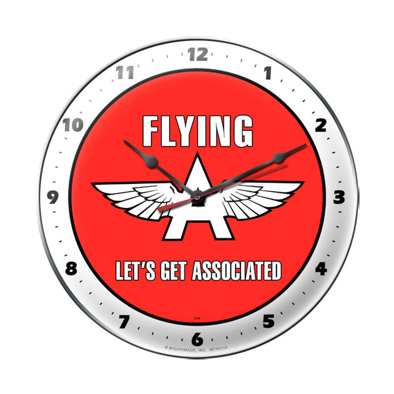 Flying A Clock - Man Cave Ideas
