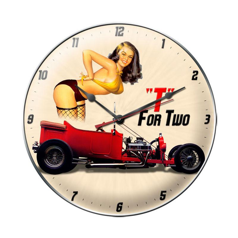 T Bucket Clock - Man Cave Ideas