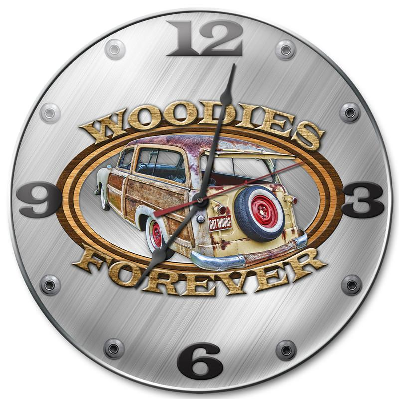 Woodies Clock - Man Cave Ideas