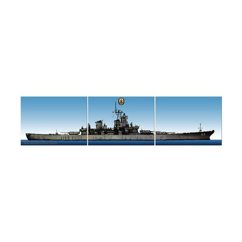 USS Missouri Triptych - Man Cave Ideas