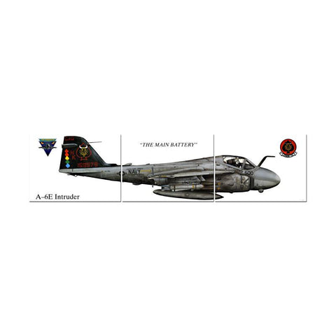 A-6E Intruder Triptych - Man Cave Ideas