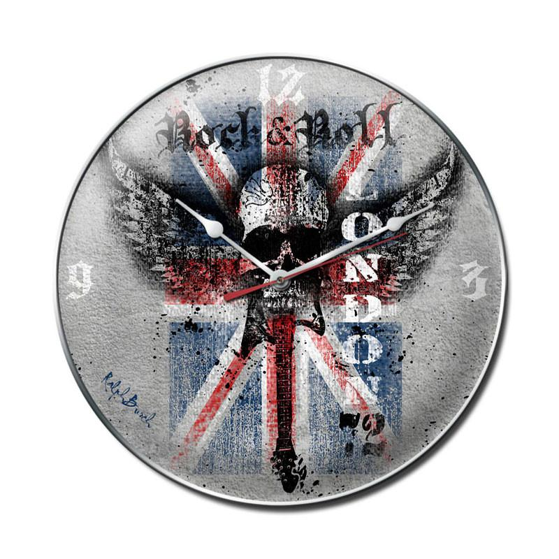 Rock and Roll London Clock - Man Cave Ideas