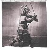Samurai Tiger Shower Curtain - Man Cave Ideas  - 2