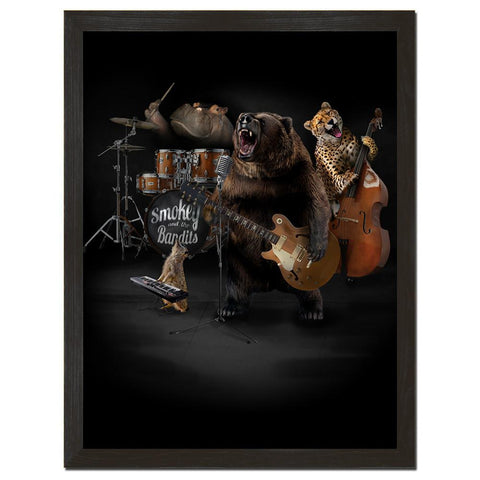 Smokey and the Bandits Art Print - Man Cave Ideas  - 1