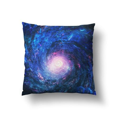 Space Galaxy Large Throw Pillow - Man Cave Ideas