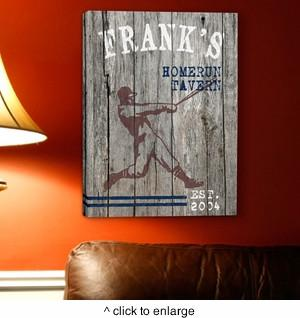 Personalized Man Cave Canvas Prints - Man Cave Ideas  - 2
