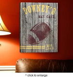 Personalized Man Cave Canvas Prints - Man Cave Ideas  - 4