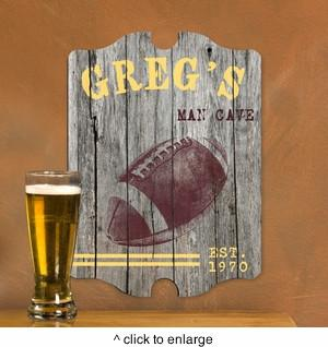 Personalized Vintage Sports Man Cave Pub Sign - Man Cave Ideas  - 2
