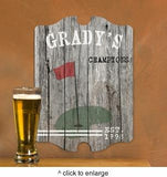 Personalized Vintage Sports Man Cave Pub Sign - Man Cave Ideas  - 4