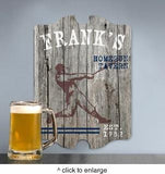 Personalized Vintage Sports Man Cave Pub Sign - Man Cave Ideas  - 5