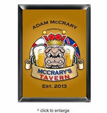 Personalized Traditional Pub Signs - Man Cave Ideas  - 4