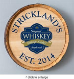 Personalized Whiskey Barrel Signs - Man Cave Ideas  - 2