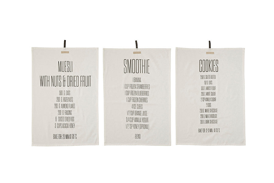 Recipes Kitchen Towel