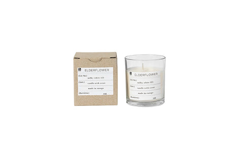 Nature Scented Candle Elderflower
