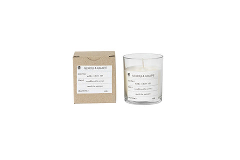 Nature Scented Candle Neroli & Grape