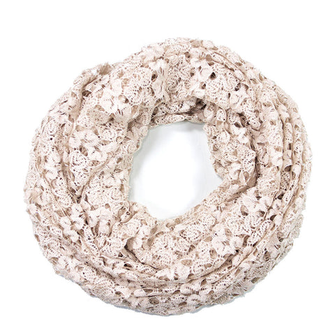 Ivory Lace Infinity