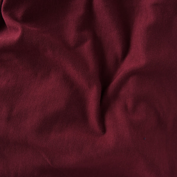 Maroon French Terry Sweater Knit Infinity