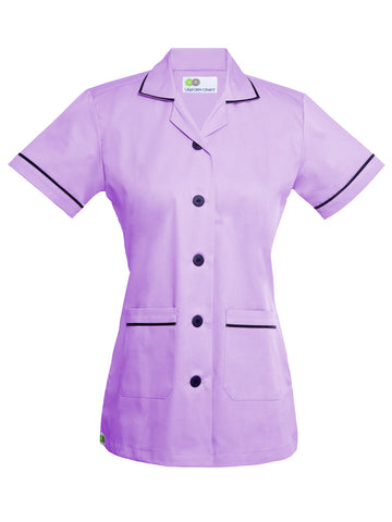 Nursing uniform set - NT01 - Light purple / Navy blue