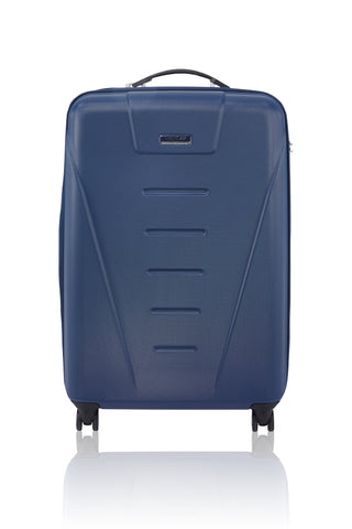 "LUXAGE 29"" FOLDABLE V-HARDSIDE LUGGAGE  BLUE-3988919"